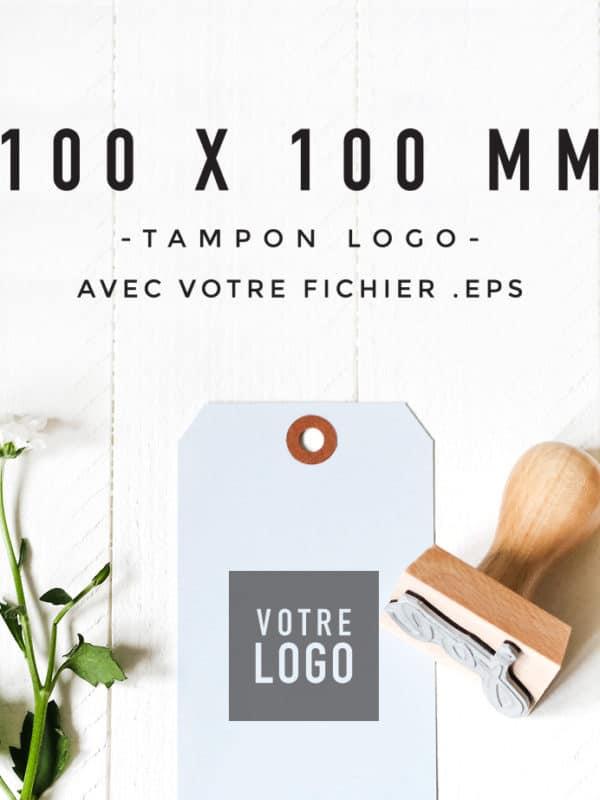 Tampon Logo 100x100 BLOOMINI STUDIO