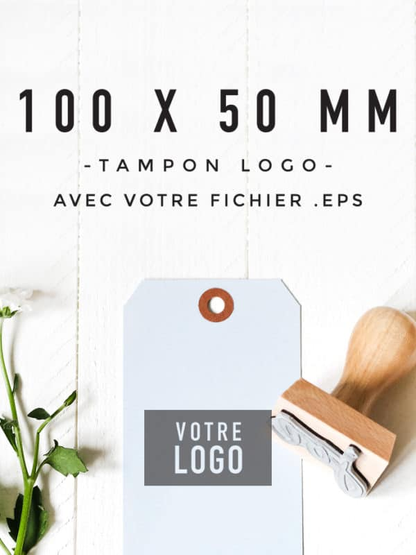 Tampon Logo 100x50 BLOOMINI STUDIO