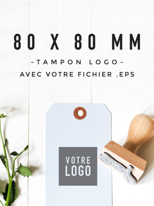 Tampon Logo 80x80 BLOOMINI STUDIO