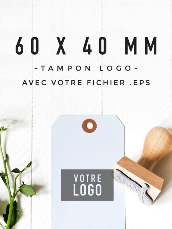Tampon Logo 60x40 BLOOMINI STUDIO