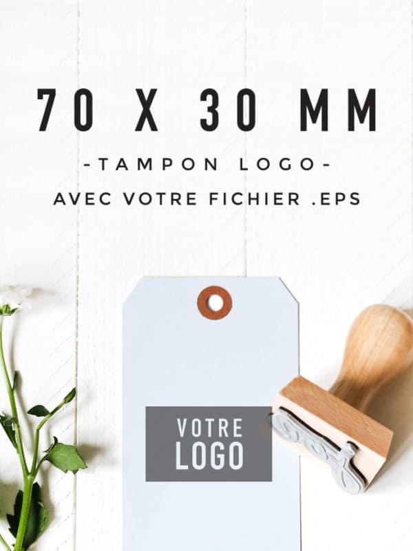 Tampon Logo 70x30 BLOOMINI STUDIO