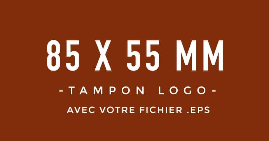 Tampon Logo 85x55 bois encreur BLOOMINI STUDIO